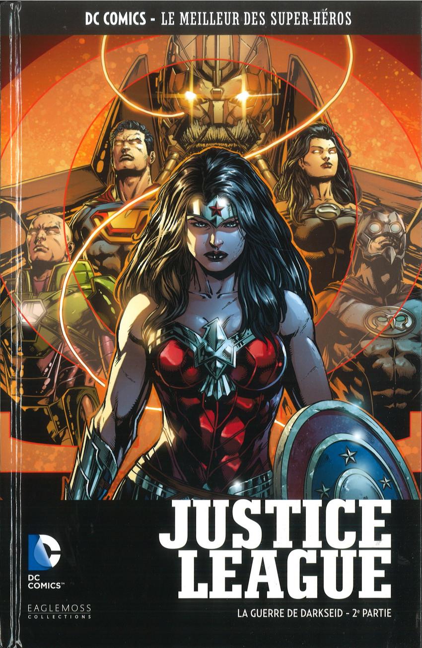 Couverture de DC Comics - Le Meilleur des Super-Héros -120- Justice League - La Guerre de Darkseid 2ème partie