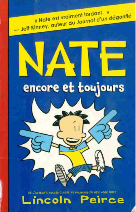 Couverture de Nate -2- Nate, encore et toujours