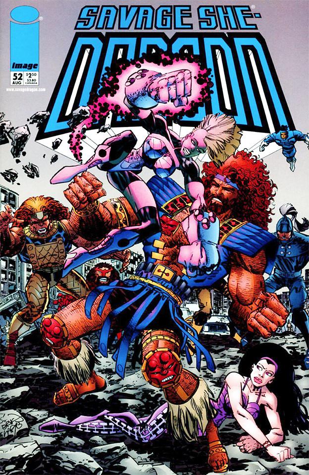 Couverture de Savage Dragon Vol.2 (The) (Image comics - 1993) -52- Issue #52