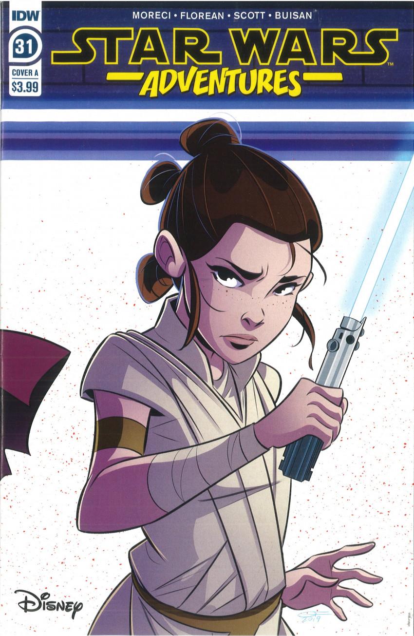 Couverture de Star Wars Adventures (2017) -31- Squad Goals