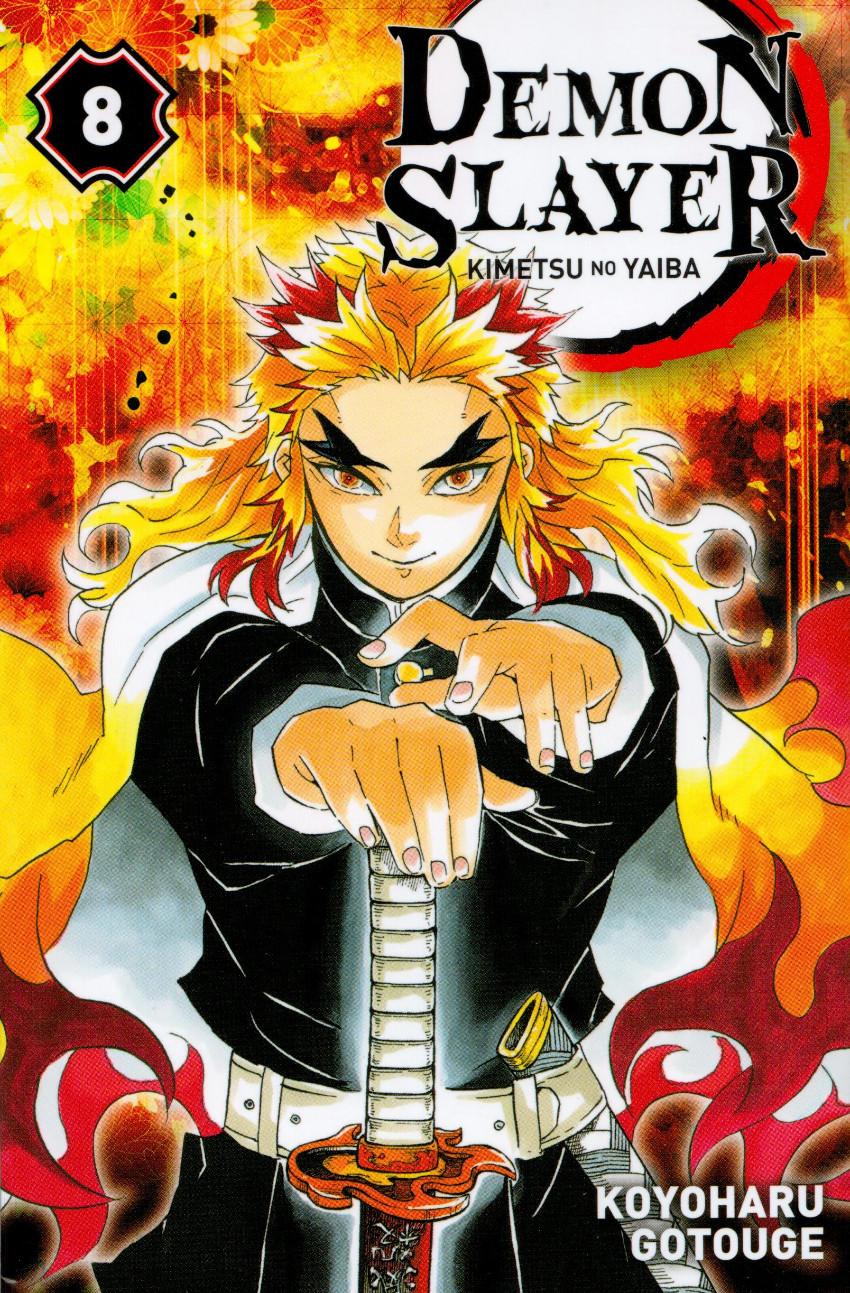 Couverture de Demon Slayer - Kimetsu no yaiba -8- Tome 8