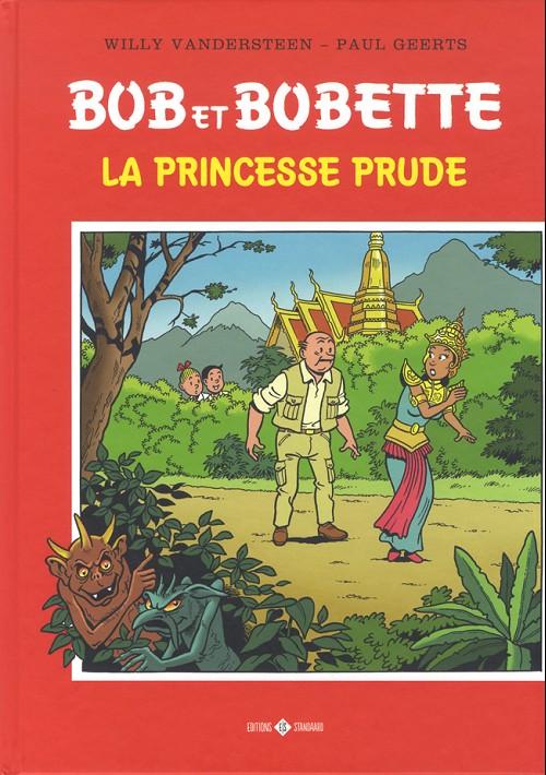 Couverture de Bob et Bobette (Hommage) -4- La princesse prude