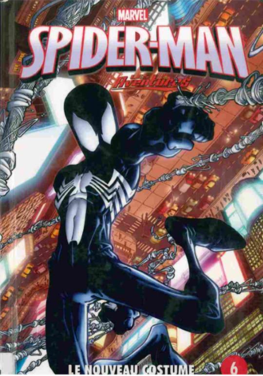 Couverture de Spider-Man - Les aventures (Presses Aventure) -6- Le nouveau costume