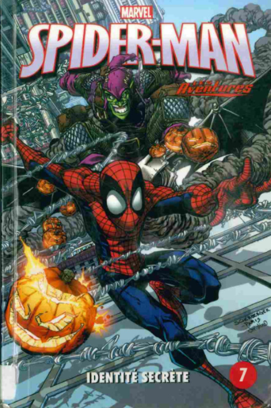 Couverture de Spider-Man - Les aventures (Presses Aventure) -7- Identité secrète