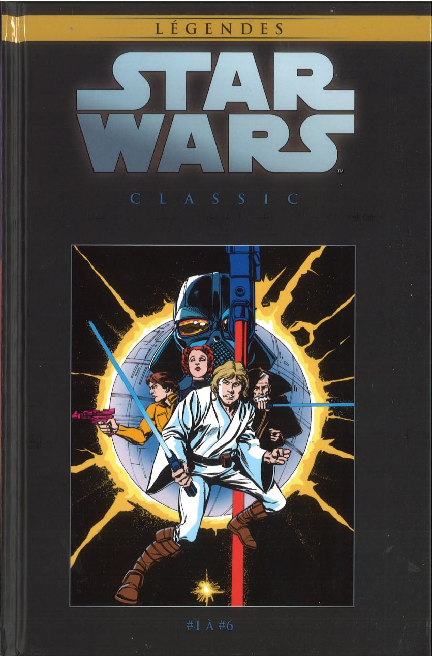 Couverture de Star Wars - Légendes - La Collection (Hachette) -116116- Star Wars Classic - #1 à #6