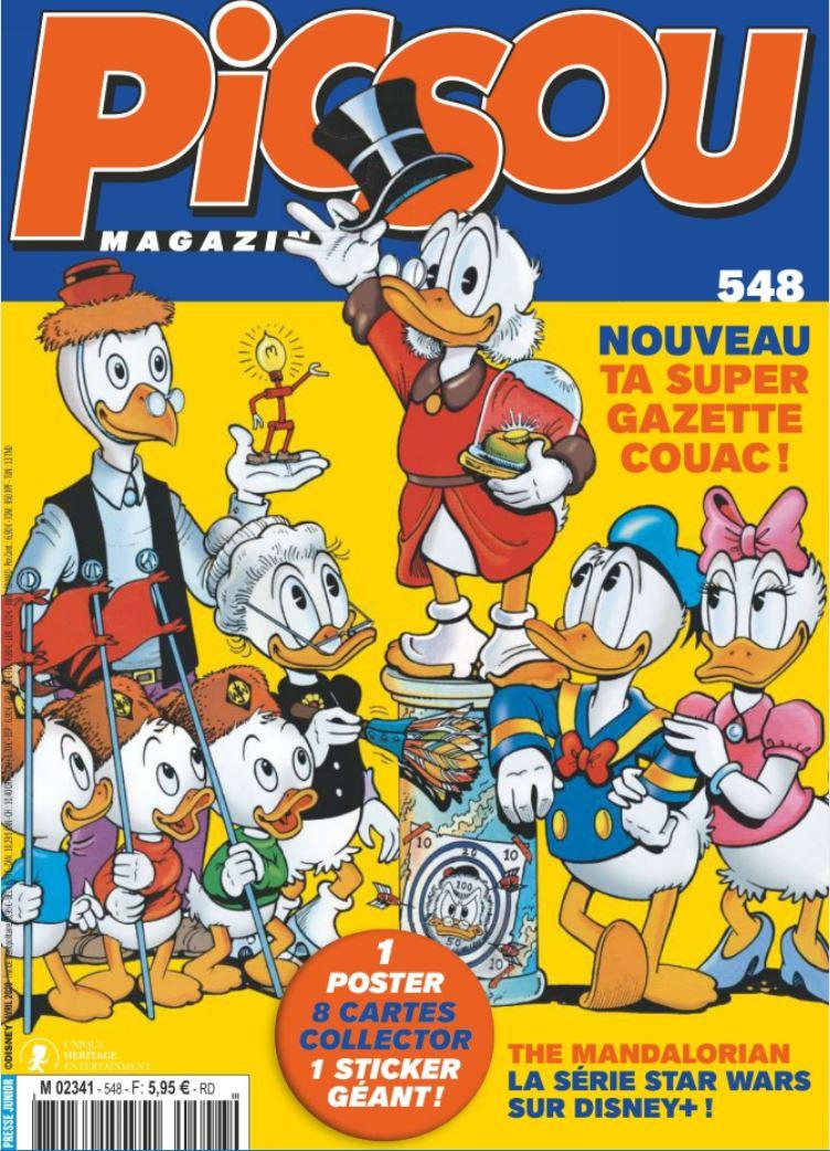 Couverture de Picsou Magazine -548- Picsou Magazine n°548