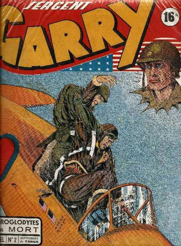 Couverture de Garry (sergent) (Imperia) (1re série grand format - 1 à 189) -2- Les troglodytes de la mort