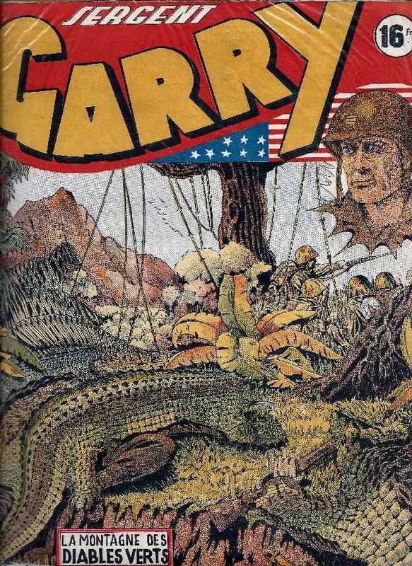 Couverture de Garry (sergent) (Imperia) (1re série grand format - 1 à 189) -4- La montagne des diables verts