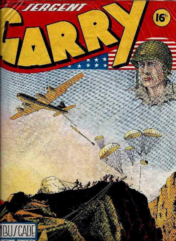 Couverture de Garry (sergent) (Imperia) (1re série grand format - 1 à 189) -5- L'embuscade