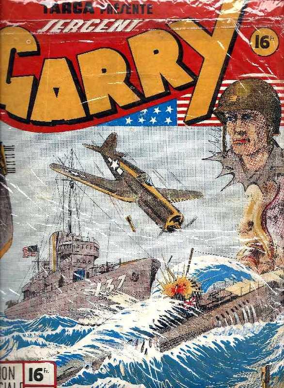 Couverture de Garry (sergent) (Imperia) (1re série grand format - 1 à 189) -7- Mission spéciale