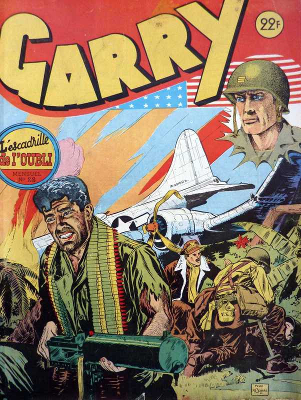 Couverture de Garry (sergent) (Imperia) (1re série grand format - 1 à 189) -22- L'escadrille de l'oubli