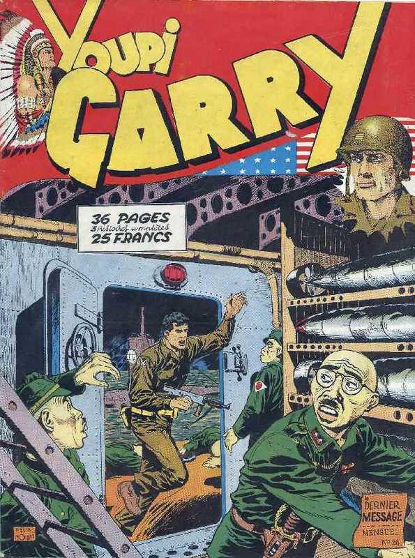 Couverture de Garry (sergent) (Imperia) (1re série grand format - 1 à 189) -26- Le dernier message