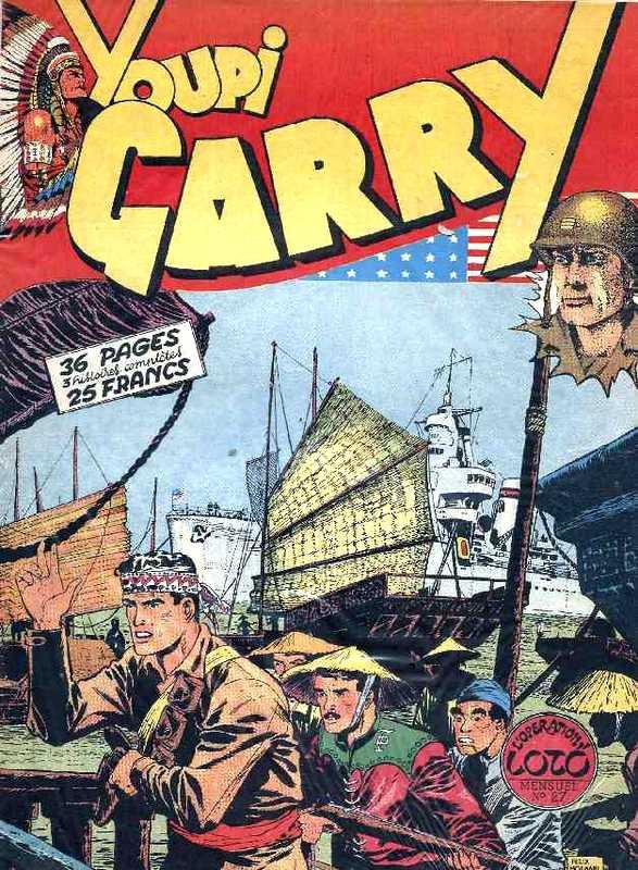 Couverture de Garry (sergent) (Imperia) (1re série grand format - 1 à 189) -27- L'opération Loto