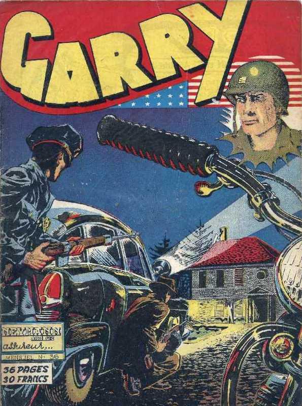 Couverture de Garry (sergent) (Imperia) (1re série grand format - 1 à 189) -36- Neymann and C° assureur