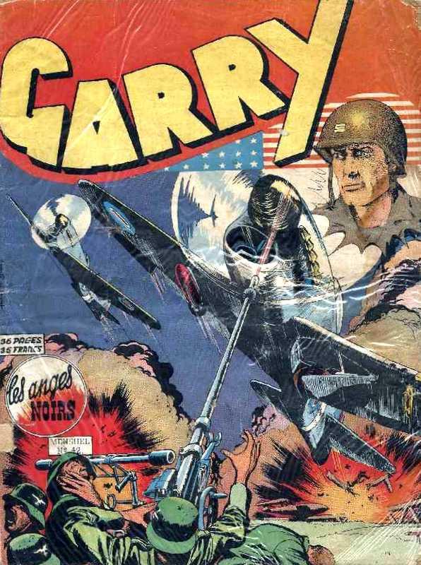 Couverture de Garry (sergent) (Imperia) (1re série grand format - 1 à 189) -42- Les anges noirs