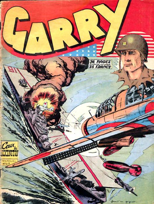 Couverture de Garry (sergent) (Imperia) (1re série grand format - 1 à 189) -43- Ceux du Lexington