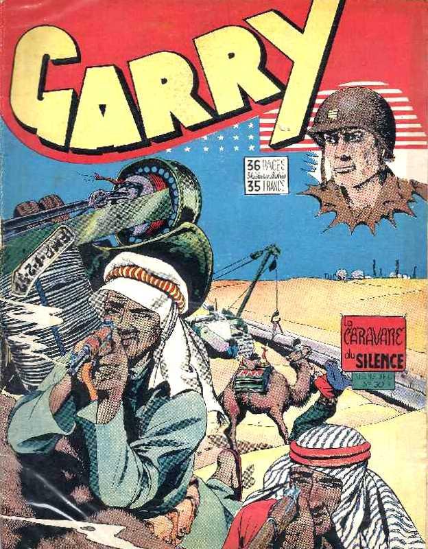 Couverture de Garry (sergent) (Imperia) (1re série grand format - 1 à 189) -50- La caravane du silence