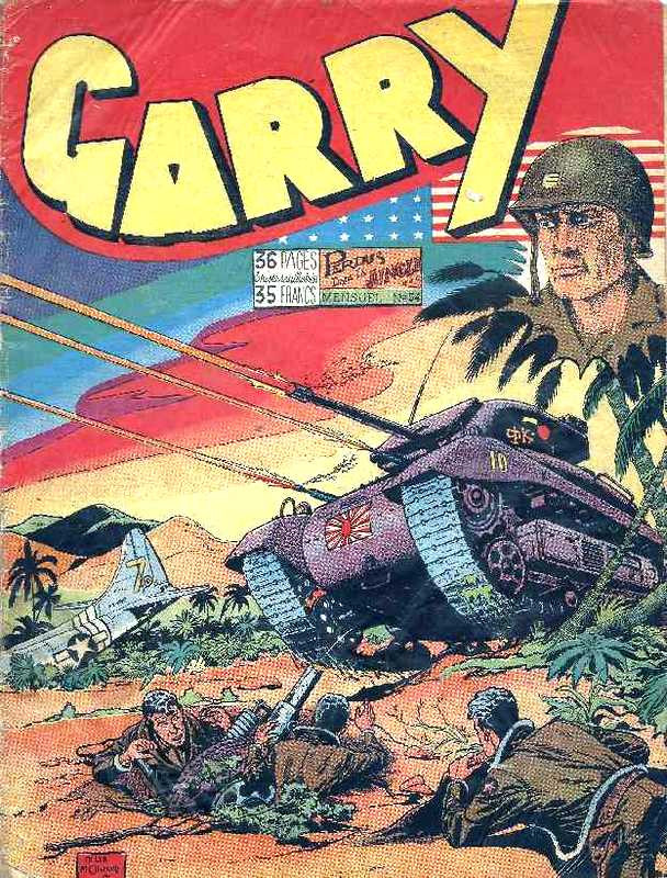 Couverture de Garry (sergent) (Imperia) (1re série grand format - 1 à 189) -54- Perdus dans la jungle