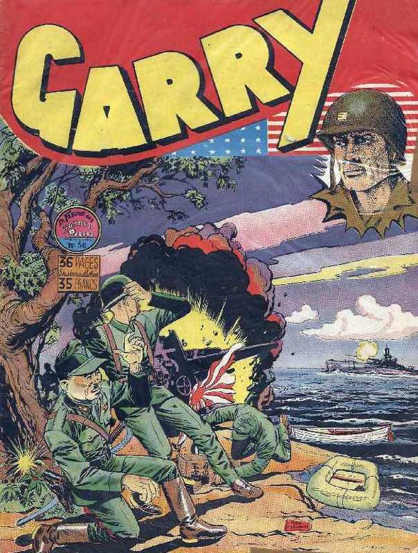 Couverture de Garry (sergent) (Imperia) (1re série grand format - 1 à 189) -56- Le fleuve des hommes perdus