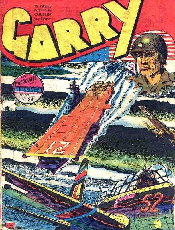 Couverture de Garry (sergent) (Imperia) (1re série grand format - 1 à 189) -84- La patrouille des brumes