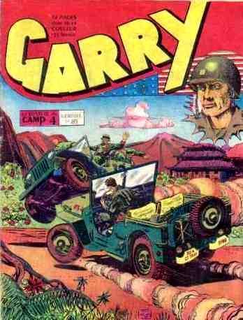 Couverture de Garry (sergent) (Imperia) (1re série grand format - 1 à 189) -85- Le mystère du camp 4