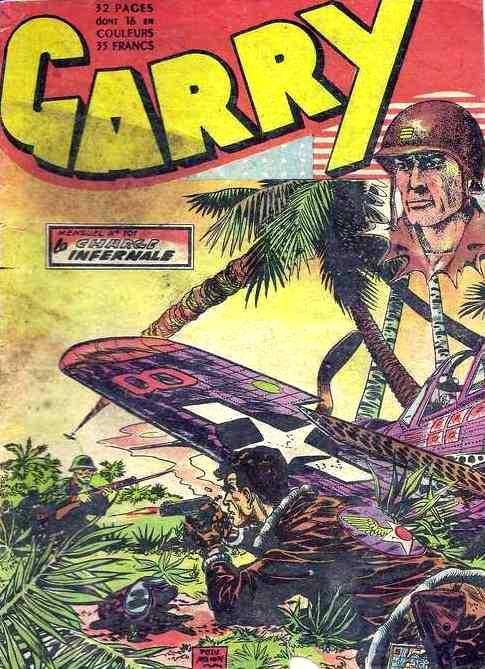 Couverture de Garry (sergent) (Imperia) (1re série grand format - 1 à 189) -101- La charge infernale