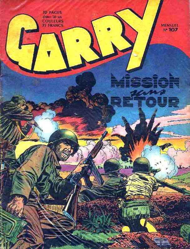 Couverture de Garry (sergent) (Imperia) (1re série grand format - 1 à 189) -107- Mission sans retour