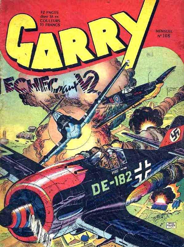 Couverture de Garry (sergent) (Imperia) (1re série grand format - 1 à 189) -108- Echec aux V2