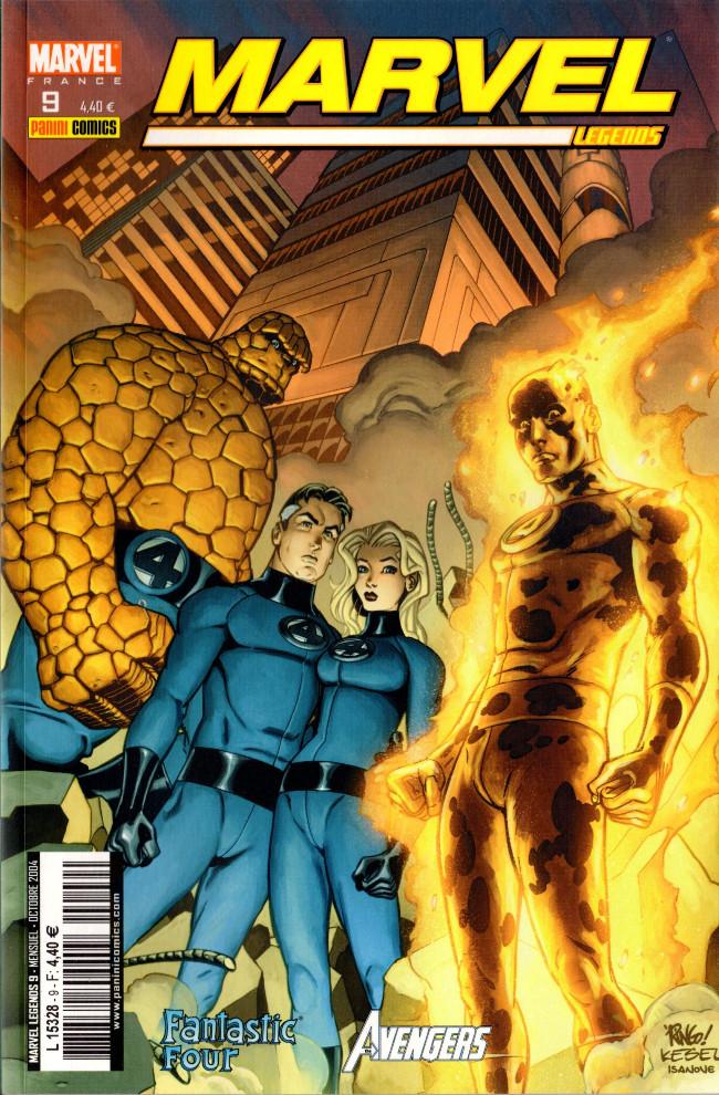Couverture de Marvel Legends -9- L'au-delà (1)