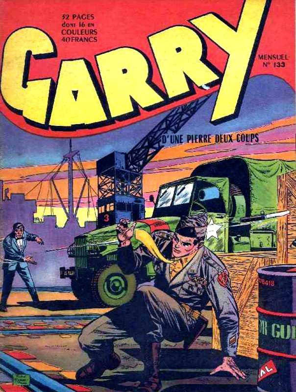 Couverture de Garry (sergent) (Imperia) (1re série grand format - 1 à 189) -133- D'une pierre deux coups