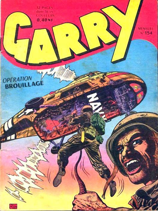 Couverture de Garry (sergent) (Imperia) (1re série grand format - 1 à 189) -154- Opération brouillage