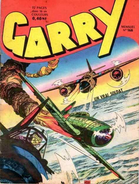 Couverture de Garry (sergent) (Imperia) (1re série grand format - 1 à 189) -168- Un vrai soldat