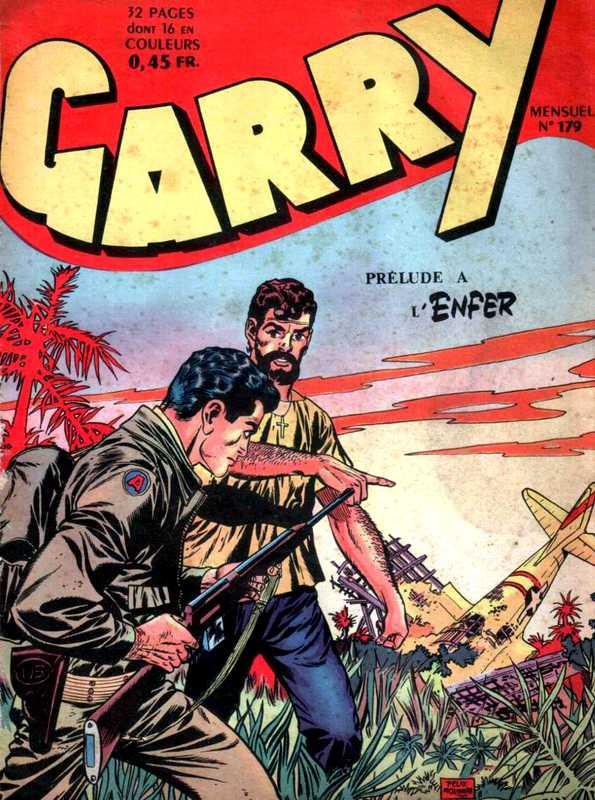 Couverture de Garry (sergent) (Imperia) (1re série grand format - 1 à 189) -179- Prélude à l'enfer