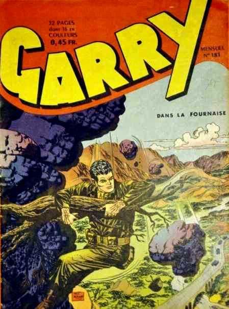 Couverture de Garry (sergent) (Imperia) (1re série grand format - 1 à 189) -181- Dans la fournaise
