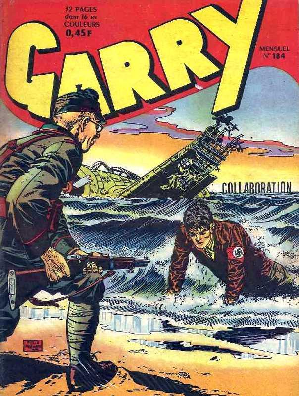 Couverture de Garry (sergent) (Imperia) (1re série grand format - 1 à 189) -184- Collaboration