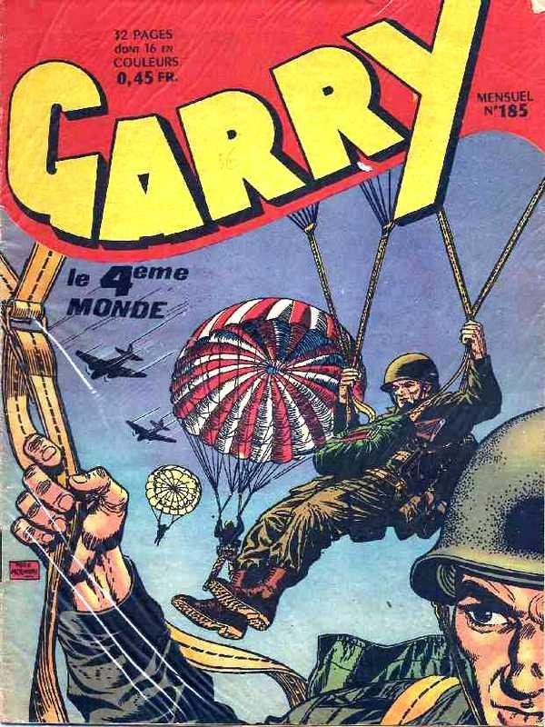Couverture de Garry (sergent) (Imperia) (1re série grand format - 1 à 189) -185- Le 4ème monde