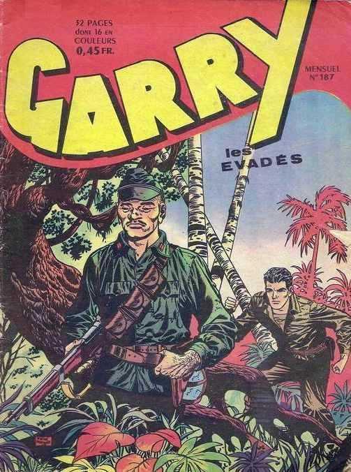 Couverture de Garry (sergent) (Imperia) (1re série grand format - 1 à 189) -187- Les évadés
