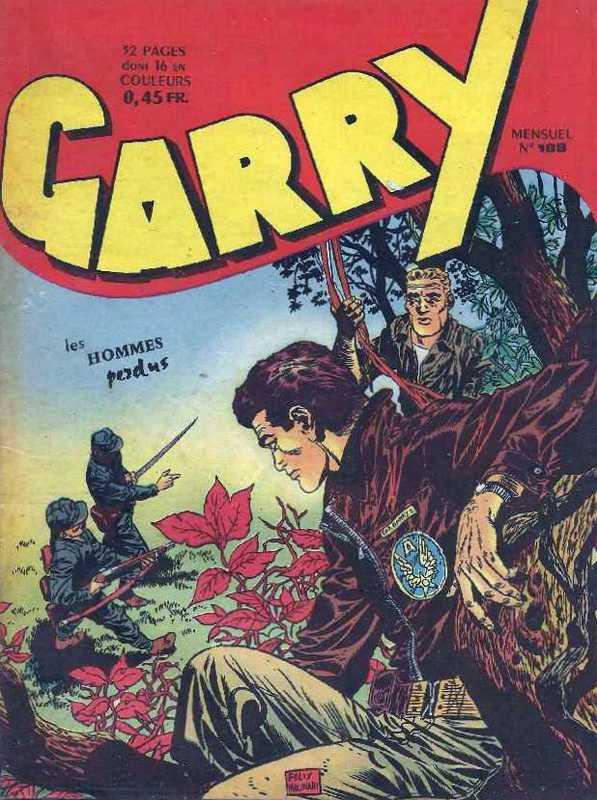 Couverture de Garry (sergent) (Imperia) (1re série grand format - 1 à 189) -188- Les hommes perdus