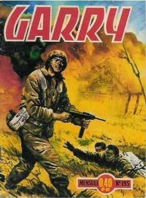 Couverture de Garry (Impéria) (2e série - 190 à 456) -195- Armada secrète