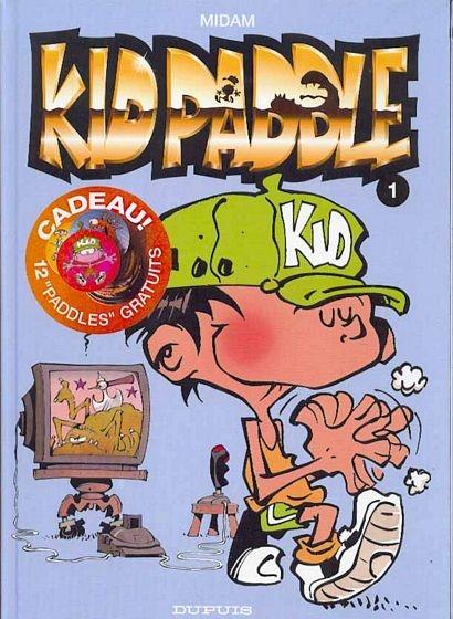 Couverture de Kid Paddle -1- Jeux de vilains