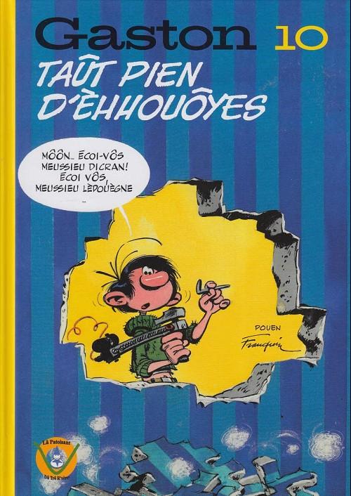 Couverture de Gaston (en langues régionales) -10Vosgien- Taût pien d'èhhouôyes