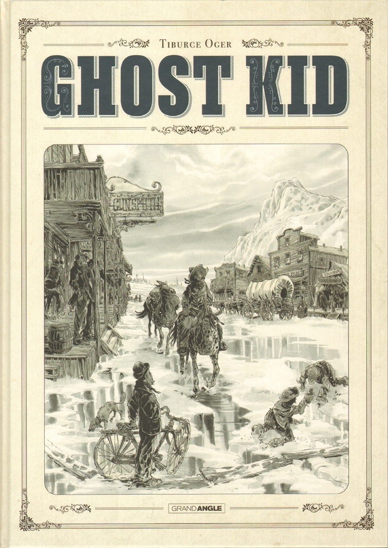 Couverture de Ghost Kid -TL- Ghost kid