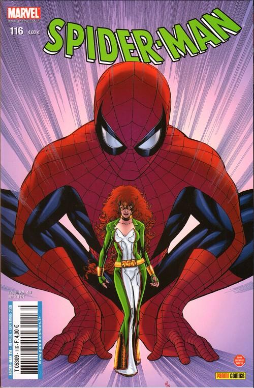 Couverture de Spider-Man (Marvel France 2e série - 2000) -116- L'identité de jackpot