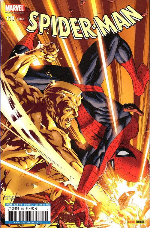 Couverture de Spider-Man (Marvel France 2e série - 2000) -119- Tête brûlée