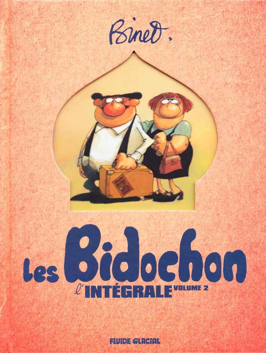 Couverture de Les bidochon -INT02- L'Intégrale volume 2