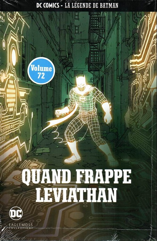 Couverture de DC Comics - La légende de Batman -7254- Quand frappe leviathan