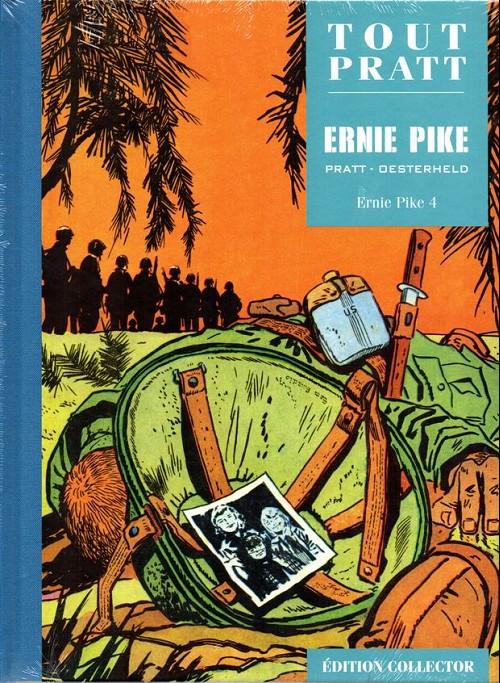 Couverture de Tout Pratt (collection Altaya) -37- Ernie Pike 4