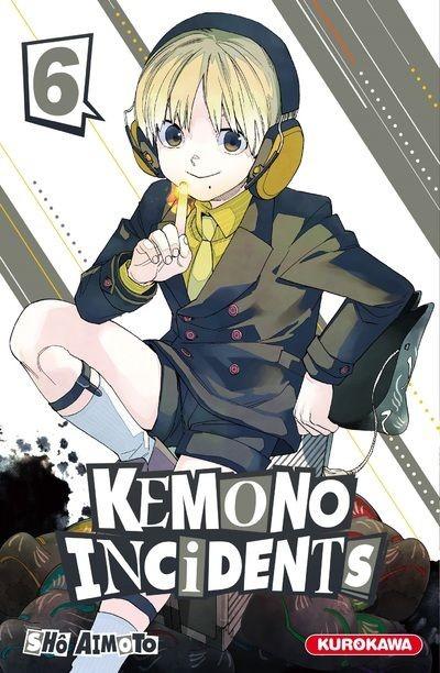 Couverture de Kemono incidents -6- Tome 6