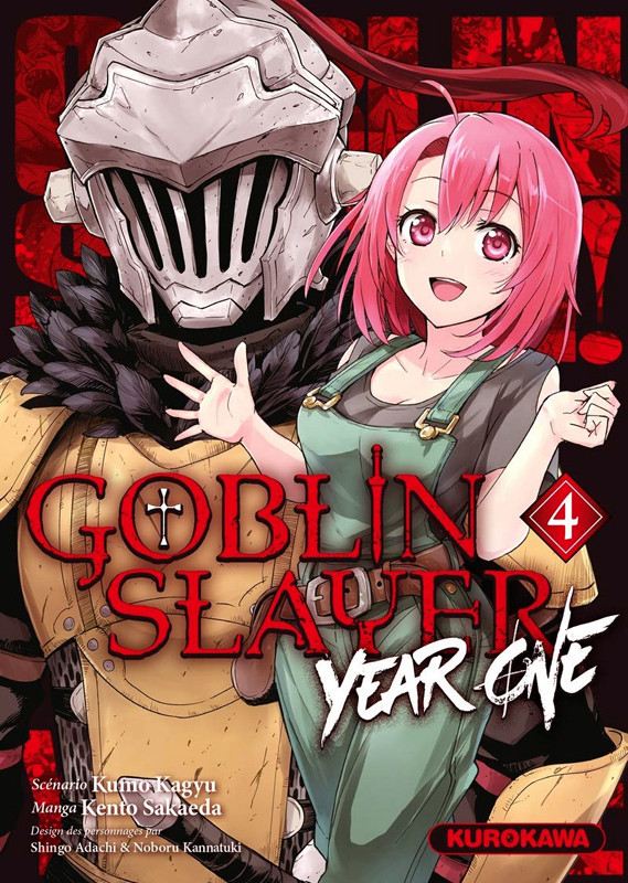 Couverture de Goblin Slayer : Year One -4- Tome 4