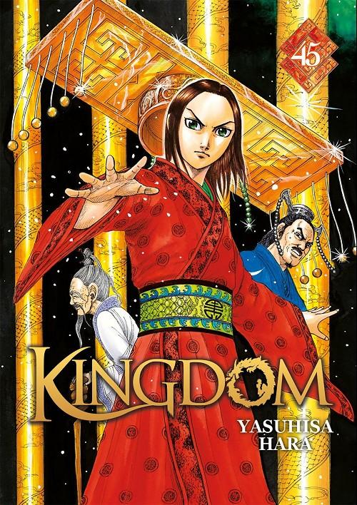 Couverture de Kingdom -45- Une bien cruelle alternative.
